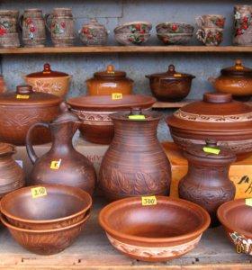 Керамика, глиняная посуда, сувениры