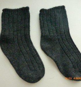 носки из шерсти и ангоры