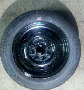 Новое колесо на матиз