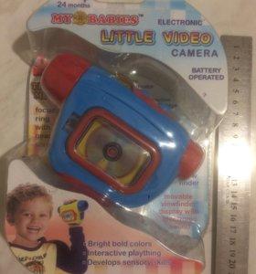Музыкальная видеокамера( новая)