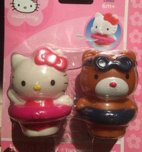 Игрушки Hello Kitty, новые, 6 мес+