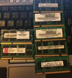Оперативная память DDR3/2
