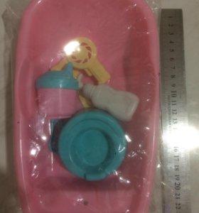 Ванночка для кукол(новая)