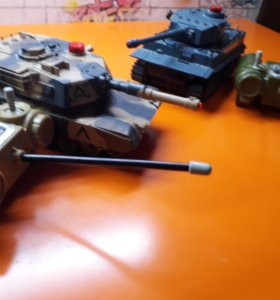 Танковый бой на р/у.