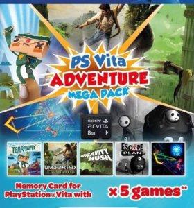 Adventure mega pack (5 игр PS Vita)