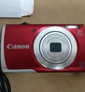 Продается фотоаппарат Canon PowerShot А2500.