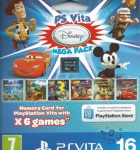 Disney mega pack (6 игр PS Vita)