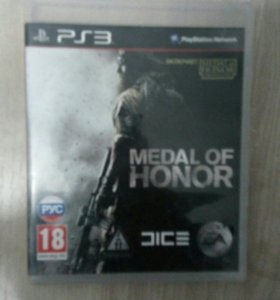 Игра на ps3 medal of honor