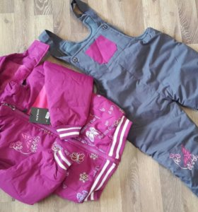 Новое Куртка+полукомбинезон