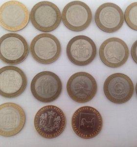 Монеты 10 биметал обмен