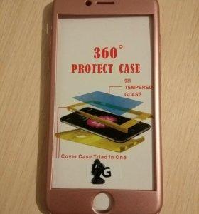 Чехол iPhone 8 Розовое золото