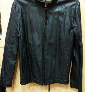 Мужская кожаная куртка 52-54