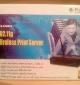 Принт-сервер 802.11g PLANET Technology