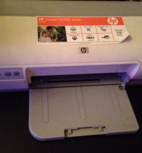 Принтер цветной HP Deskjet D2500 series