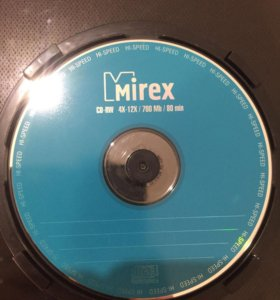 Диски CD-RW 4X-12X / 700Mb / 80 min. Чистые
