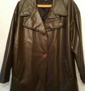 Куртка кожзам 50-52