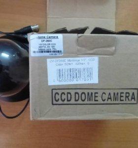 Камера купольная цветная CV-DF260C CyberView