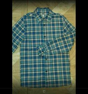 Рубашка х/б для мальчика 10-12 лет
