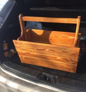 Раскладной стол для пикника. Ручная работа.