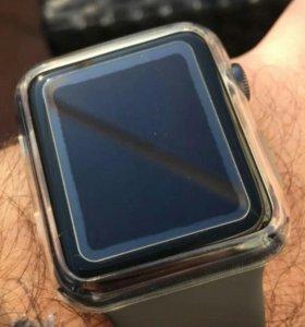 Защитное стекло на apple watch 38мм