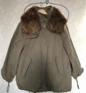 Куртка парка Zara Woman