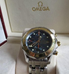 Omega Seamaster Professional 300m gold/steel