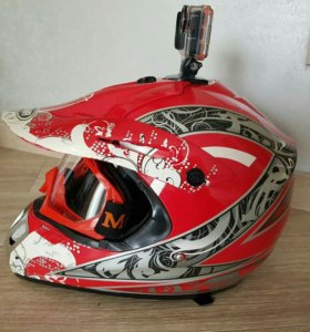 Шлем мотокроссный