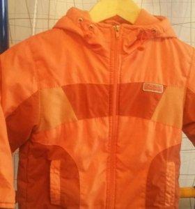 Курточка на флисе р.100-110