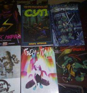 Комиксы Marvel, IDW и зомби против роботов.