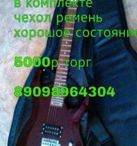 Электро гитара (для начинающих)