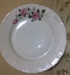 Тарелка - Розы