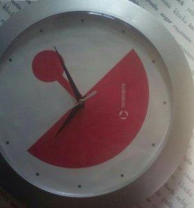 Часы брендированные Телекарта.
