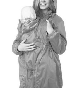 Слинго-куртка. ПЛАЩ для беременной