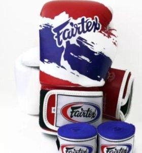 Перчатки и бинты Fairtex