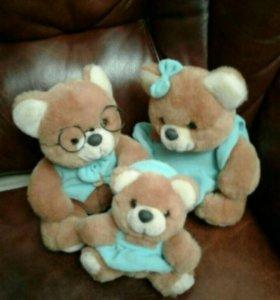 Комплект из 3х медведей