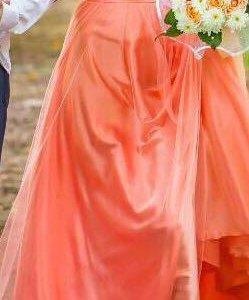 Вечернее (свадебное)платье