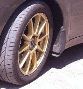 летние шины и диски