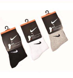 Nike носки 3 цвета
