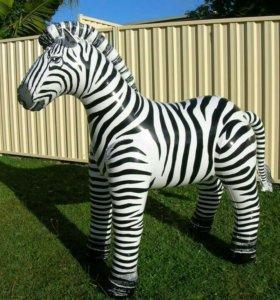 Надувная зебра