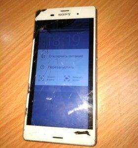 Смартфон Sony Z3 D6603 в разбор