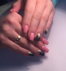 Гель лак , наращивание ногтей, коррекция!!!