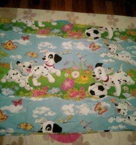 Детское одеяло + пододеяльник в подарок