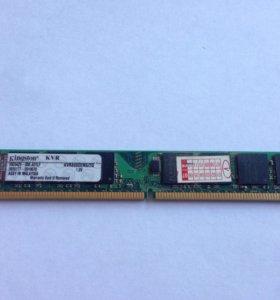 Оперативная память Kingston 2GB DDR2 800мгц