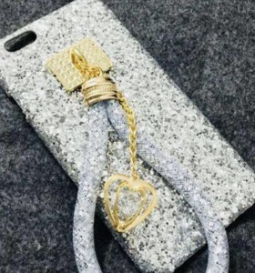 Подвеска серебро на телефон