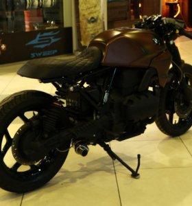 Мотоцикл BMW K75 custom переделка cafe racer