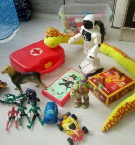 Развивающие игрушки, черепашки ниндзя, рейнджеры