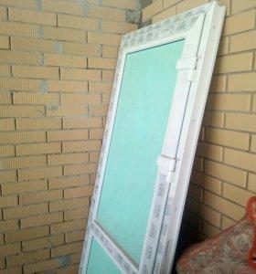 Металопластиковая дверь