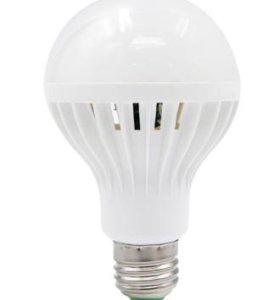 Светодиодные лампы 9вт с датчиком движения