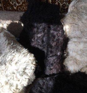 Продам овечьи шкуры с выделкой