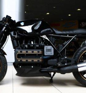 Мотоцикл BMW K1100 custom переделка cafe racer